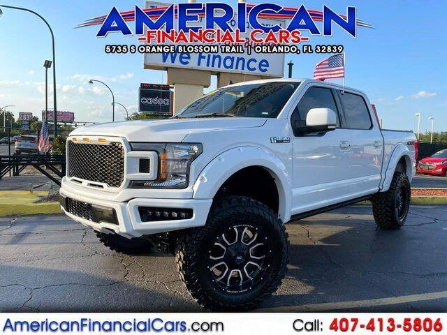 2020 Ford F-150 for sale at American Financial Cars in Orlando FL
