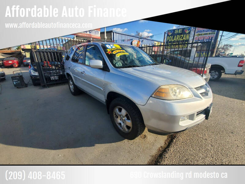 2005 Acura MDX for sale at Affordable Auto Finance in Modesto CA