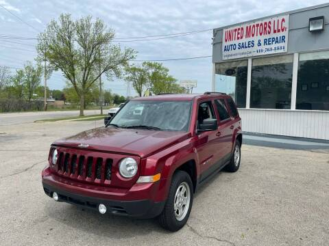 2014 Jeep Patriot for sale at United Motors LLC in Saint Francis WI