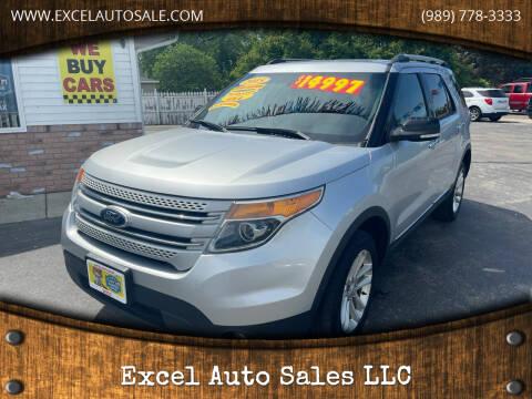 2015 Ford Explorer for sale at Excel Auto Sales LLC in Kawkawlin MI