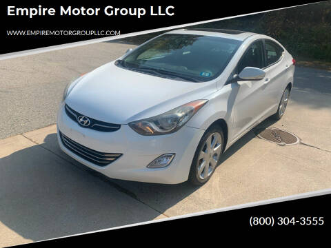 2011 Hyundai Elantra for sale at Empire Motor Group LLC in Plaistow NH