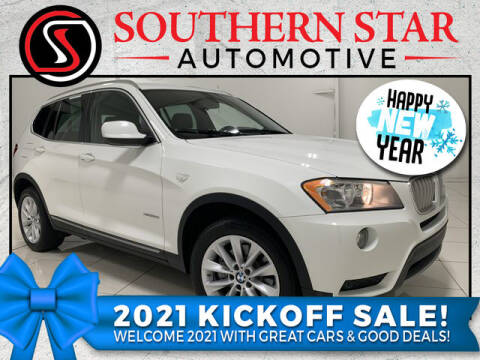 2013 BMW X3 for sale at Southern Star Automotive, Inc. in Duluth GA