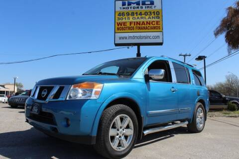 2014 Nissan Armada for sale at Flash Auto Sales in Garland TX