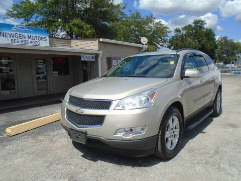 2010 Chevrolet Traverse for sale at New Gen Motors in Bartow FL