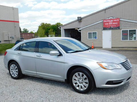 2012 Chrysler 200 for sale at Macrocar Sales Inc in Akron OH