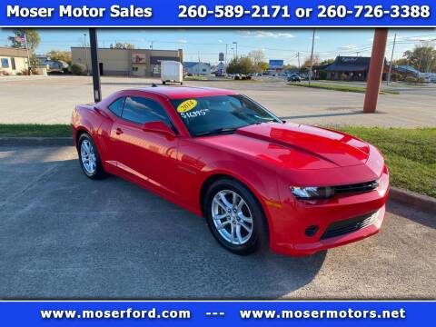 2014 Chevrolet Camaro for sale at Moser Motors Of Portland in Portland IN