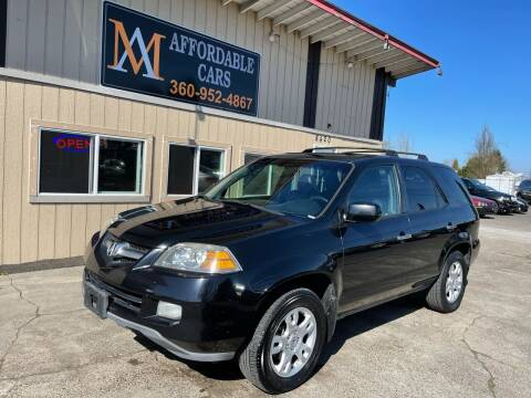 2005 Acura MDX for sale at M & A Affordable Cars in Vancouver WA
