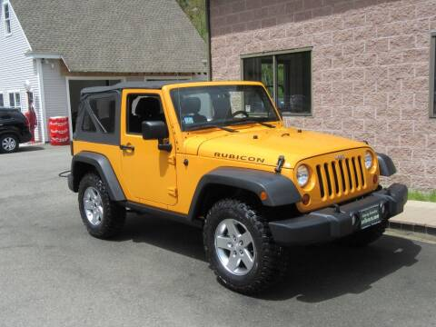 2012 Jeep Wrangler for sale at Advantage Automobile Investments, Inc in Littleton MA