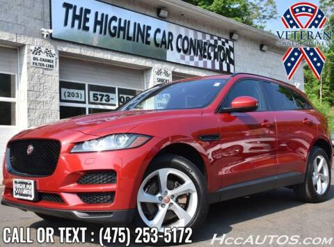 2018 Jaguar F-PACE for sale at The Highline Car Connection in Waterbury CT
