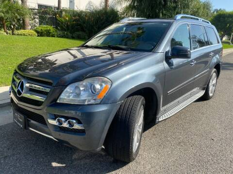 2011 Mercedes-Benz GL-Class for sale at Donada  Group Inc in Arleta CA