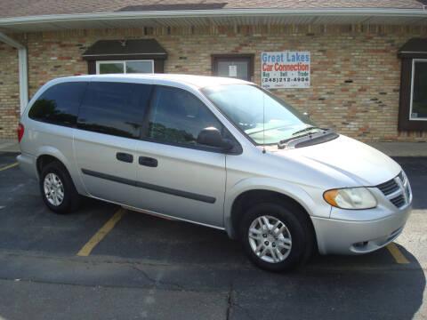 2006 Dodge Grand Caravan for sale at Great Lakes Car Connection in Metamora MI