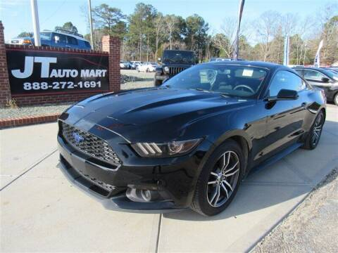 2017 Ford Mustang for sale at J T Auto Group in Sanford NC