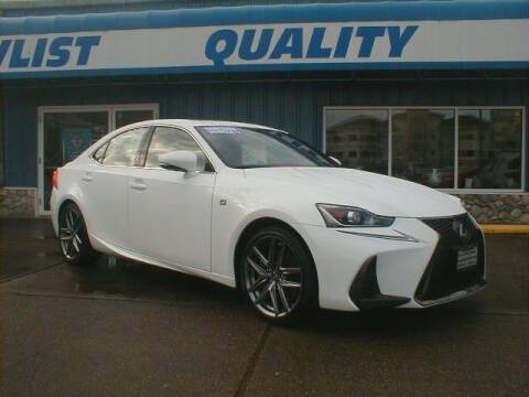 2017 Lexus IS 350 for sale at Dick Vlist Motors, Inc. in Port Orchard WA