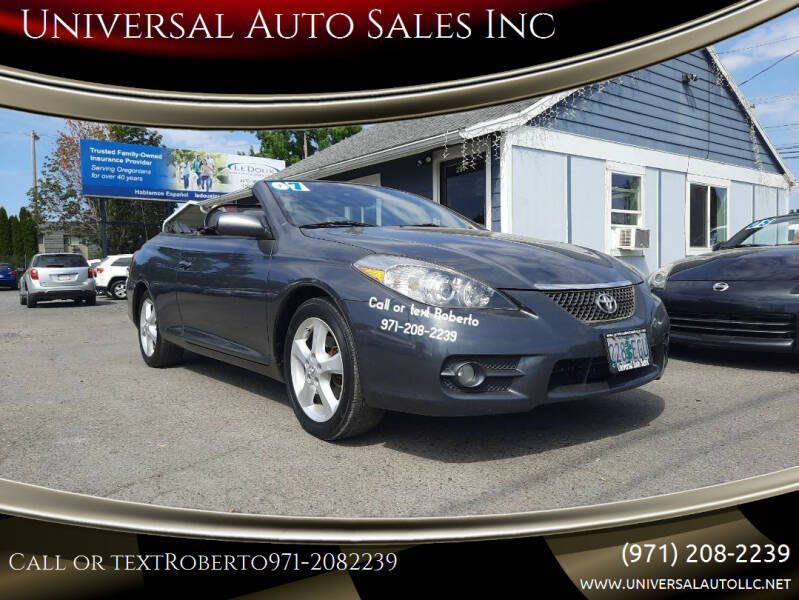 2007 Toyota Camry Solara for sale in Salem, OR