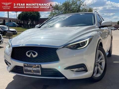 2018 Infiniti QX30 for sale at European Motors Inc in Plano TX