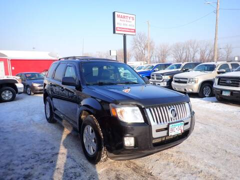 2010 Mercury Mariner for sale at Marty's Auto Sales in Savage MN
