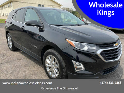 2018 Chevrolet Equinox for sale at Wholesale Kings in Elkhart IN
