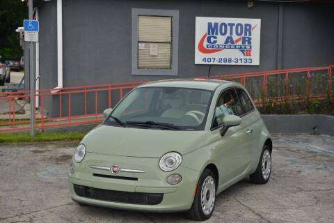 2015 FIAT 500 for sale at Motor Car Concepts II - Colonial Location in Orlando FL