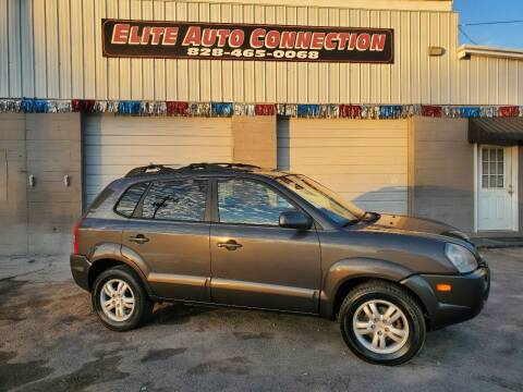 2007 Hyundai Tucson for sale at Elite Auto Connection in Conover NC