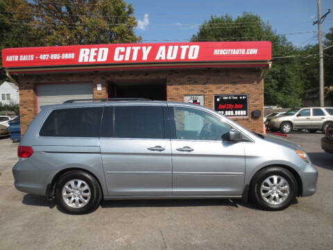 2010 Honda Odyssey for sale at Red City  Auto in Omaha NE