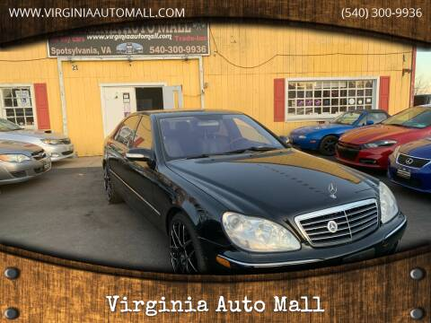 2005 Mercedes-Benz S-Class for sale at Virginia Auto Mall in Woodford VA