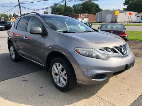 2012 Nissan Murano for sale at Wise Investments Auto Sales in Sellersburg IN