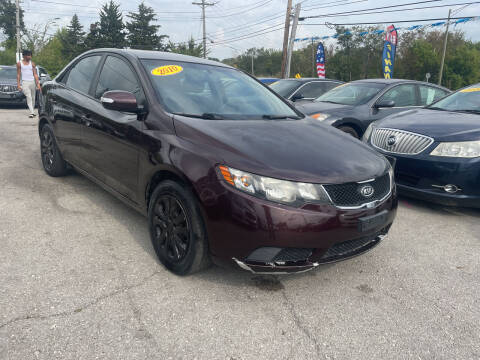 2010 Kia Forte for sale at I57 Group Auto Sales in Country Club Hills IL