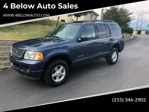 2005 Ford Explorer for sale at 4 Below Auto Sales in Willow Grove PA