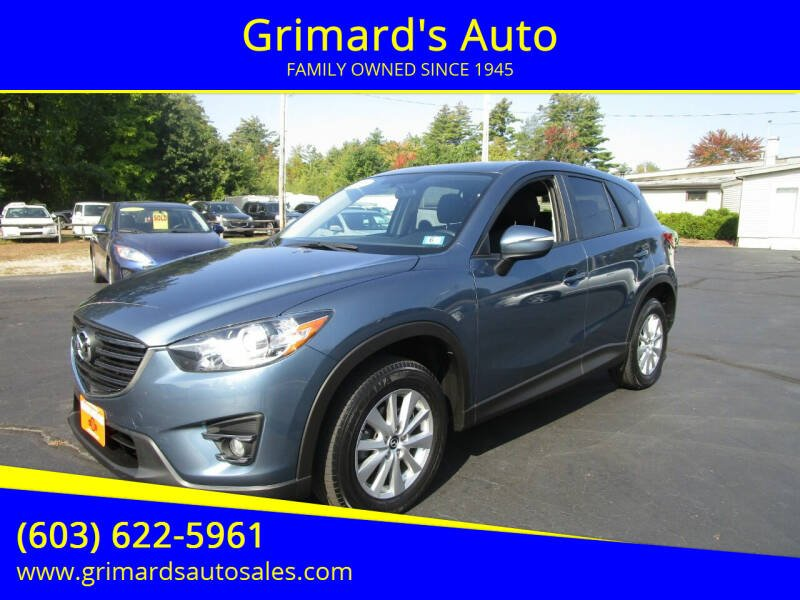 2016 Mazda CX-5 for sale at Grimard's Auto in Hooksett, NH