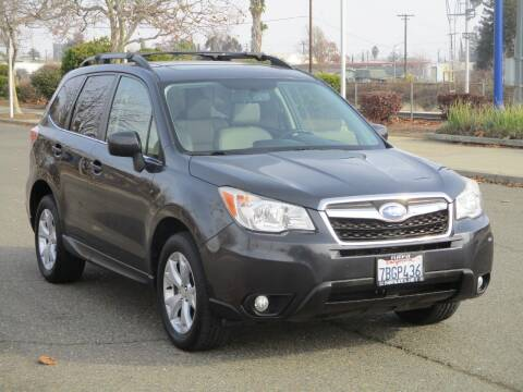 2014 Subaru Forester for sale at General Auto Sales Corp in Sacramento CA