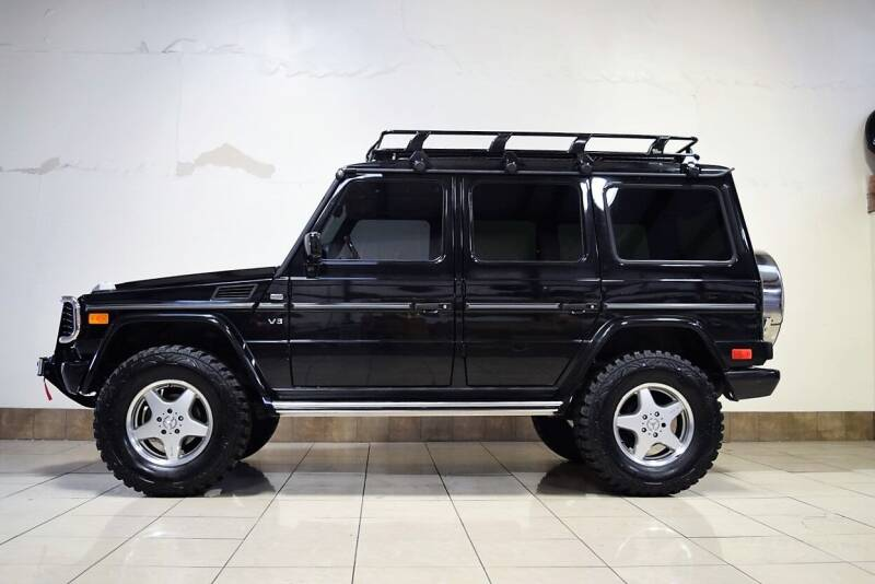 2002 Mercedes-Benz G-Class AWD G 500 4MATIC 4dr SUV - Houston TX