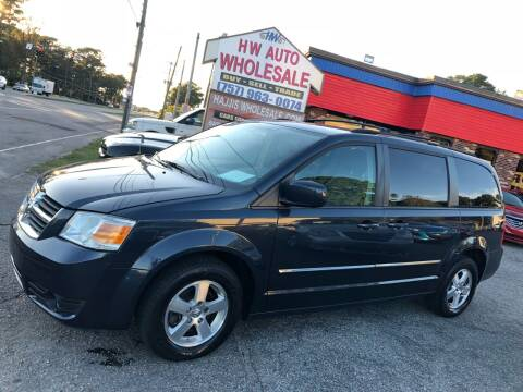 2008 Dodge Grand Caravan for sale at HW Auto Wholesale in Norfolk VA