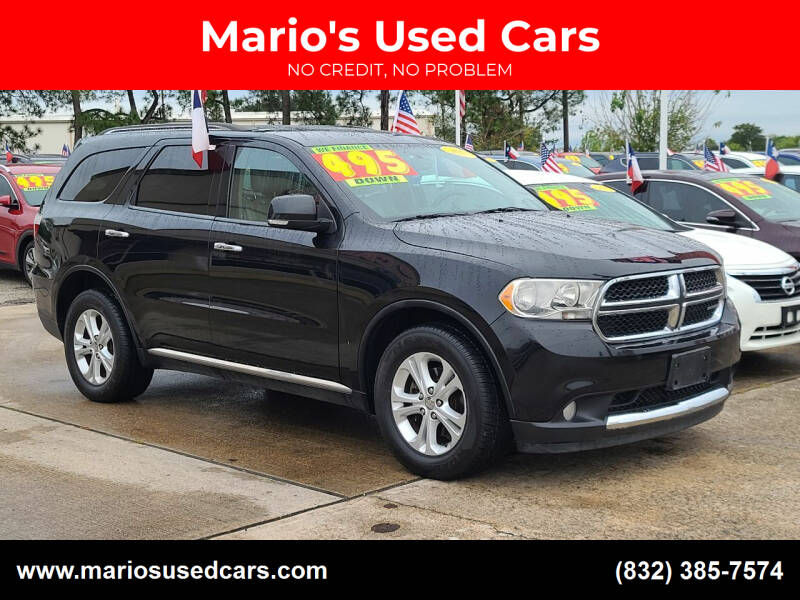 2013 Dodge Durango for sale at Mario's Used Cars in Houston TX