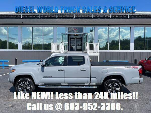 2018 Toyota Tacoma for sale at Diesel World Truck Sales in Plaistow NH