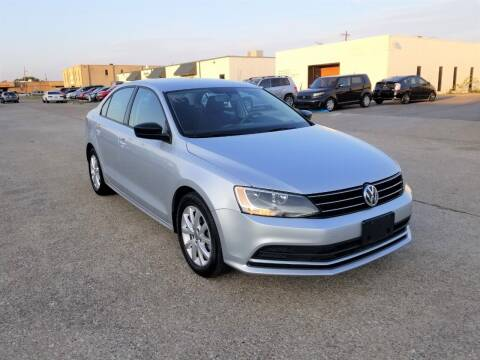 2015 Volkswagen Jetta for sale at Image Auto Sales in Dallas TX