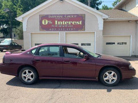 2004 Chevrolet Impala for sale at Imperial Group in Sioux Falls SD