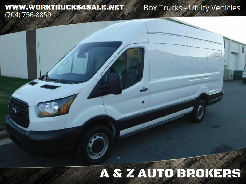 2018 Ford Transit Cargo for sale at A & Z AUTO BROKERS in Charlotte NC