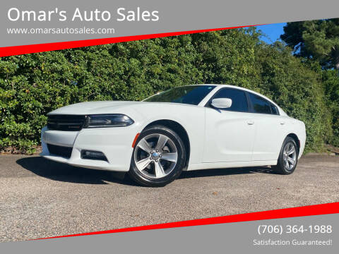 2016 Dodge Charger for sale at Omar's Auto Sales in Martinez GA
