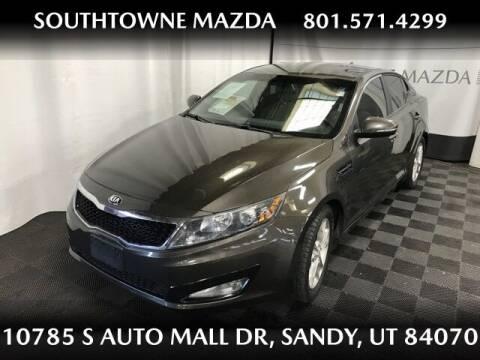 2013 Kia Optima for sale at Southtowne Mazda of Sandy in Sandy UT