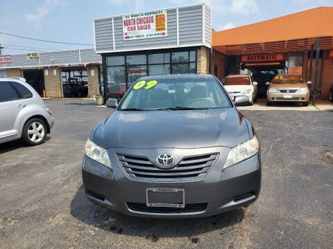 2009 Toyota Camry for sale at North Chicago Car Sales Inc in Waukegan IL
