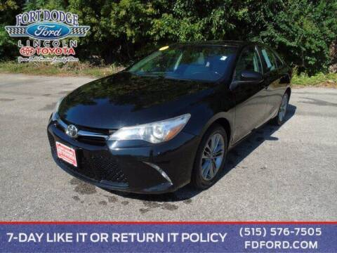 2017 Toyota Camry for sale at Fort Dodge Ford Lincoln Toyota in Fort Dodge IA