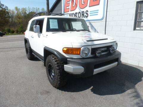 2011 Toyota FJ Cruiser for sale at Edge Motors in Mooresville NC