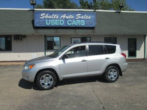 2007 Toyota RAV4 for sale at SHULTS AUTO SALES INC. in Crystal Lake IL
