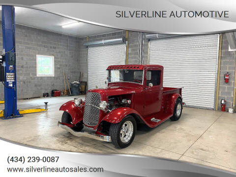 1934 Ford Super Deluxe for sale at Silverline Automotive in Lynchburg VA