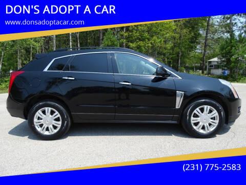 2013 Cadillac SRX for sale at DON'S ADOPT A CAR in Cadillac MI
