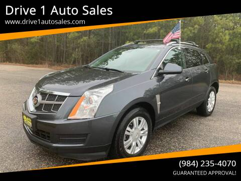 2012 Cadillac SRX for sale at Drive 1 Auto Sales in Wake Forest NC