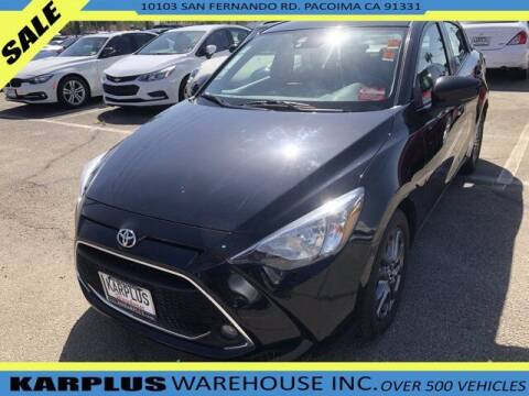 2019 Toyota Yaris for sale at Karplus Warehouse in Pacoima CA