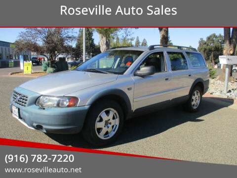 2004 Volvo XC70 for sale at Roseville Auto Sales in Roseville CA