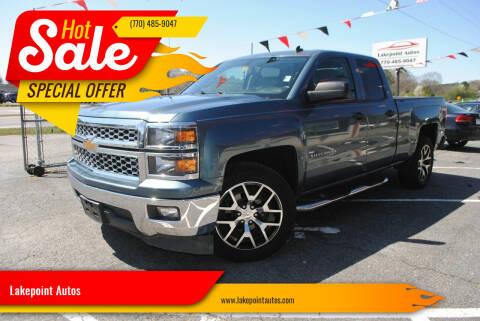 2014 Chevrolet Silverado 1500 for sale at Lakepoint Autos in Cartersville GA
