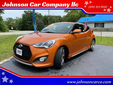 2013 Hyundai Veloster for sale at Johnson Car Company llc in Crown Point IN